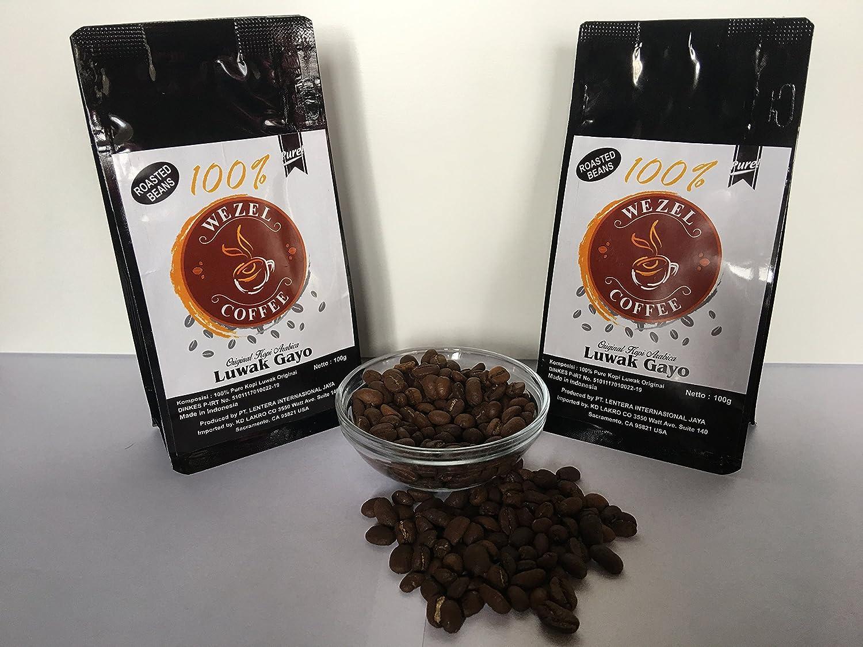 Kafe Balos Project Cage Free Organic Packaging Image 1 Of 5 Kopi Luwak Lembah Cimanong 250 Gram By Amazon Authentic Coffee 100 Arabica Gayo Sumatra Indonesia Wild Civet 35 Ounces Grams Grocery
