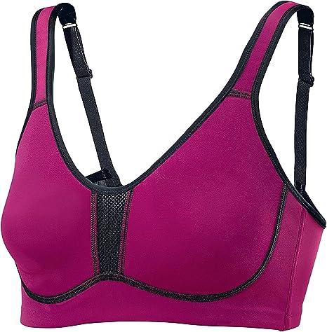 Unifit Mujer - Sujetador deportivo rosa Talla:95 / D: Amazon.es ...