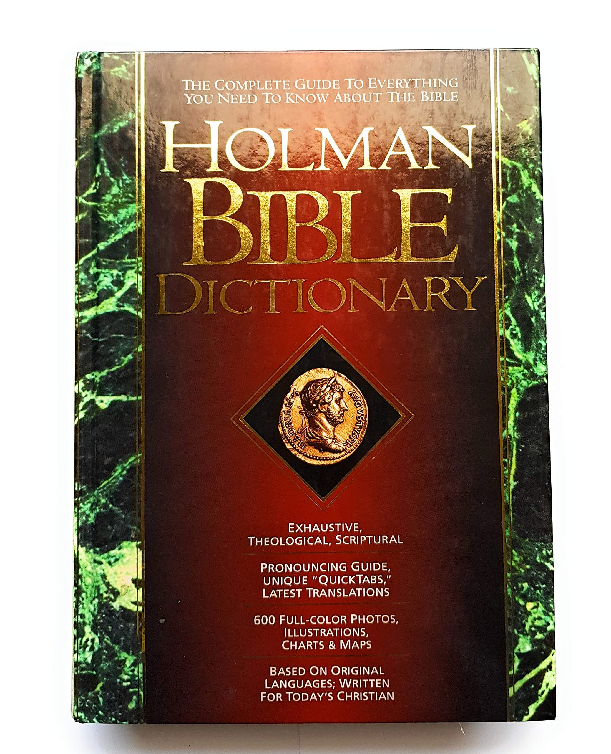 Holman Bible Dictionary: Trent C  Butler: 9781558190535: Amazon com