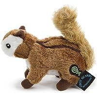 goDog Wildlife Dog Toy with Chew Guard (Chipmunk, Small)