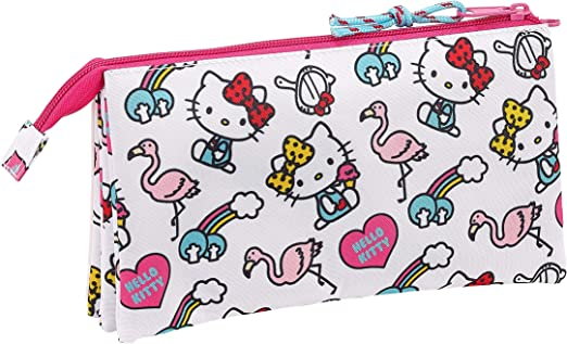 3.75 liters Hello Kitty 2018 Trousse /à Maquillage 26 cm Rosa Rose
