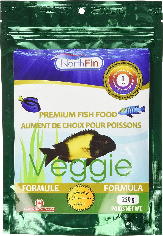 Northfin Food Veggie Formula 1Mm Pellet 250 Gram Package