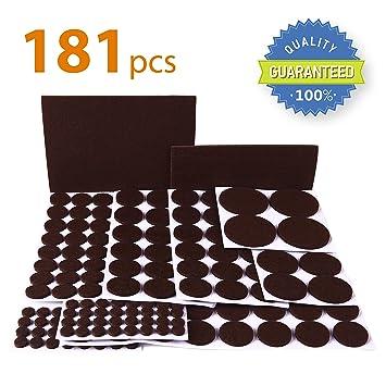 X-PROTECTOR Premium ULTRA LARGE Pack Felt Furniture Pad...