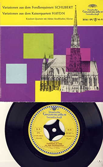 "Variationen Aus Dem Forellenquintett / Variationen Aus Dem Kaiserquartett Vinyl, 7"", 45 RPM, Single"