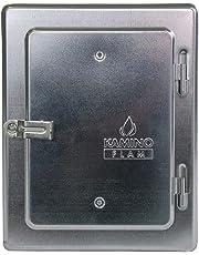 Kamino-Flam 331530 Porte de ramonage, Argent, 22,5 x 7 x 28,5 cm