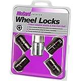 McGard 24216 Black Cone Seat Wheel Locks (M14X1.5 Thread Size) - Set of 4