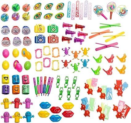 Amazon.com: Conjunto de 101 juguetes de tamaño medio ...