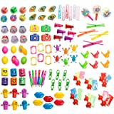 Party Favor Toy Assortment Pack of 101 Pc, Mid-size and Small Toys, Easter Egg Fillers, Party Favors, Pinata Filler, Small Prizes, for Party Favor Bags, School Classrooms, and Carnivals,