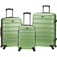 Rockland Melbourne 3-Piece Luggage Set