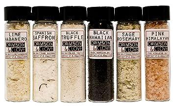 Amazon.com : Essential Salt Gift Set - Truffle Salt, Black ...