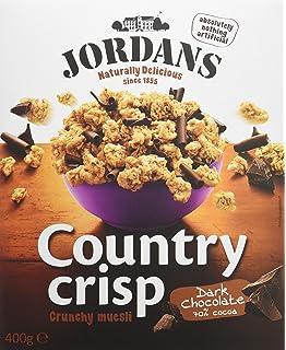 Jordans - Country crisp - Bolitas de cereales crujientes con rizos de chocolate negro - 400