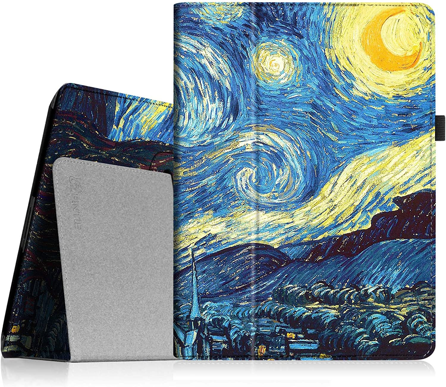Fintie Folio Case for iPad 2 3 4 (Old Model) 9.7 inch Tablet - Slim Fit Smart Stand Protective Cover Auto Sleep/Wake for iPad 2, iPad 3rd gen & iPad 4th Generation with Retina Display, Starry Night