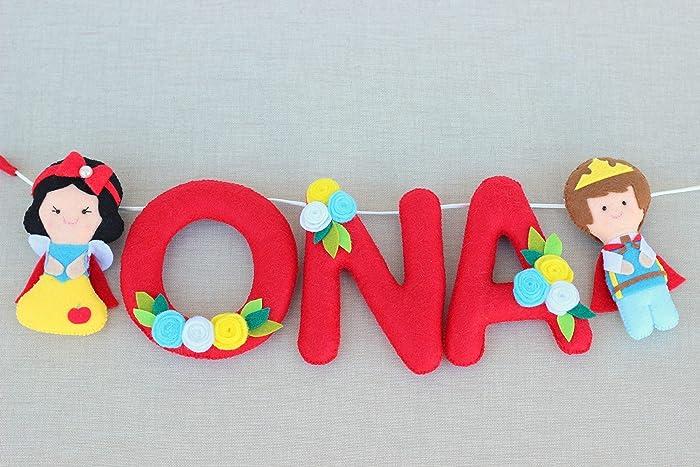 Letras para decoración infantil, nombres niñas, regalo recién nacido ...
