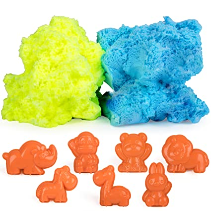 Amazon Com Modeling Clay Sensory Toys For Kids Fluffy Putty Foam