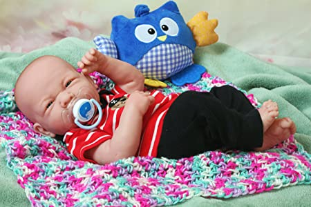 Amazon.com: Realista Reborn lindo bebés Gemelos niño y niña ...