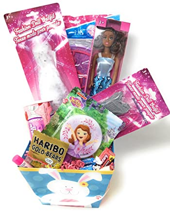 Amazon happy easter basket girls boys kids toddlers happy easter basket girls boys kids toddlersgoodies negle Image collections