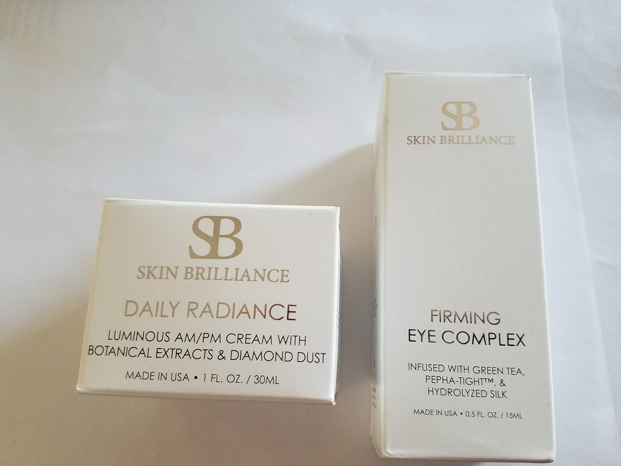 Skin Brilliance Firming Eye Complex and Daily Radiance combo by Skin Brilliance (Image #1)
