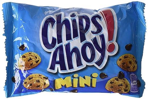 Chips Ahoy - Minis - Galletas con gotas de chocolate- 40 g - [Pack