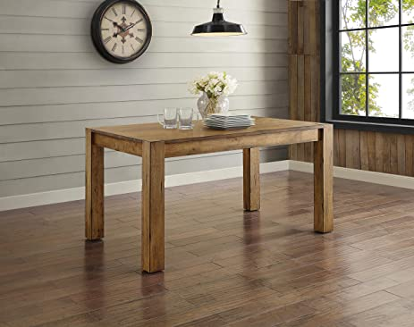 Amazoncom Better Homes and Gardens Bryant Dining Table Rustic