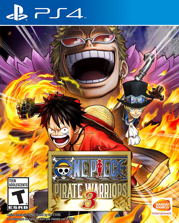One Piece Pirate Warriors 3 Playstation 4 Bandai Ps4 Naruto To Boruto Shinobi Striker Deluxe Edition Region English Namco Games Amer Video