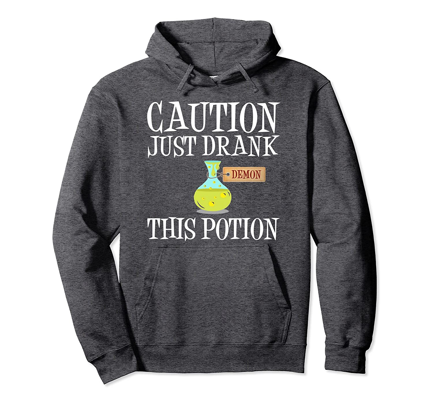 Funny Halloween Hoodie | Scary Demon Potion Costume-Rose