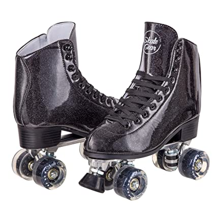 Amazon.com   Cal 7 Sparkly Roller Skates for Indoor   Outdoor ... 8a0fb78df8