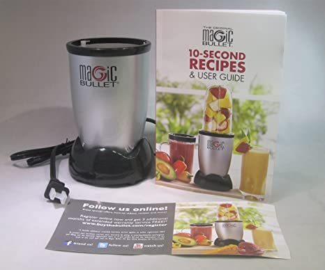 amazon com original magic bullet power base 250 watts with 10 rh amazon com magic bullet 10 second recipes and user guide magic bullet user guide manual