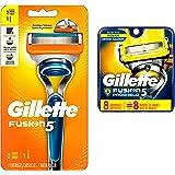 Gillette Fusion5 Men's Razor with 2 Razor Blade Refills, Mens Fusion Razors/Blades