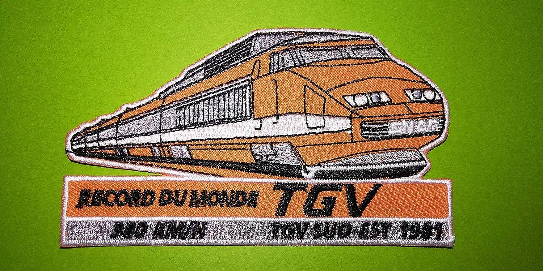 BLUE HAWAI A632 Patch ECUSSON TGV SNCF Record Vitesse 11 6,5 CM