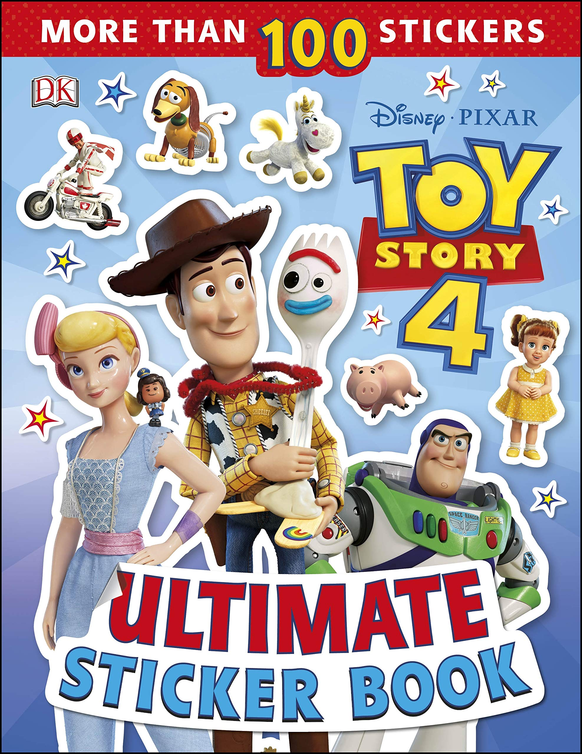 Image for Ultimate Sticker Book: Disney Pixar Toy Story 4