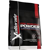 Pre Workout Powder Supplement 450g | 56 Servings Berry Blast with Creatine, Beta-Alanine, Taurine, L-Glutamine & Caffeine | Suitable for Vegetarians & Vegans | Pre Workout Supplement