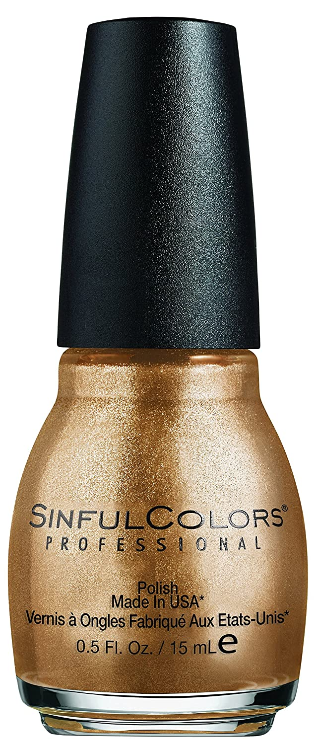 Sinful Colors Nail Polish Gold Medal, 0.5 Fl Oz Revlon 6360-22