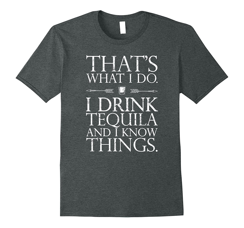 Womens Drink Tequila Things T Shirt-Awarplus