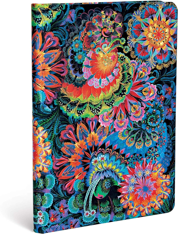 Paperblanks Hardcover Journals Luz de Luna | Liso | Midi (120 × 170 mm) (Olenas Garden)