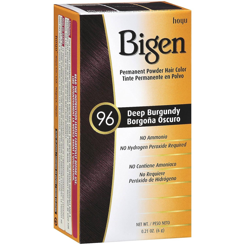 Amazon Bigen Powder Hair Color 58 Black Brown 021oz 3 Pack