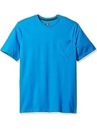 G.H. Bass & Co. Mens Short Sleeve T-Shirt Henley Shirt