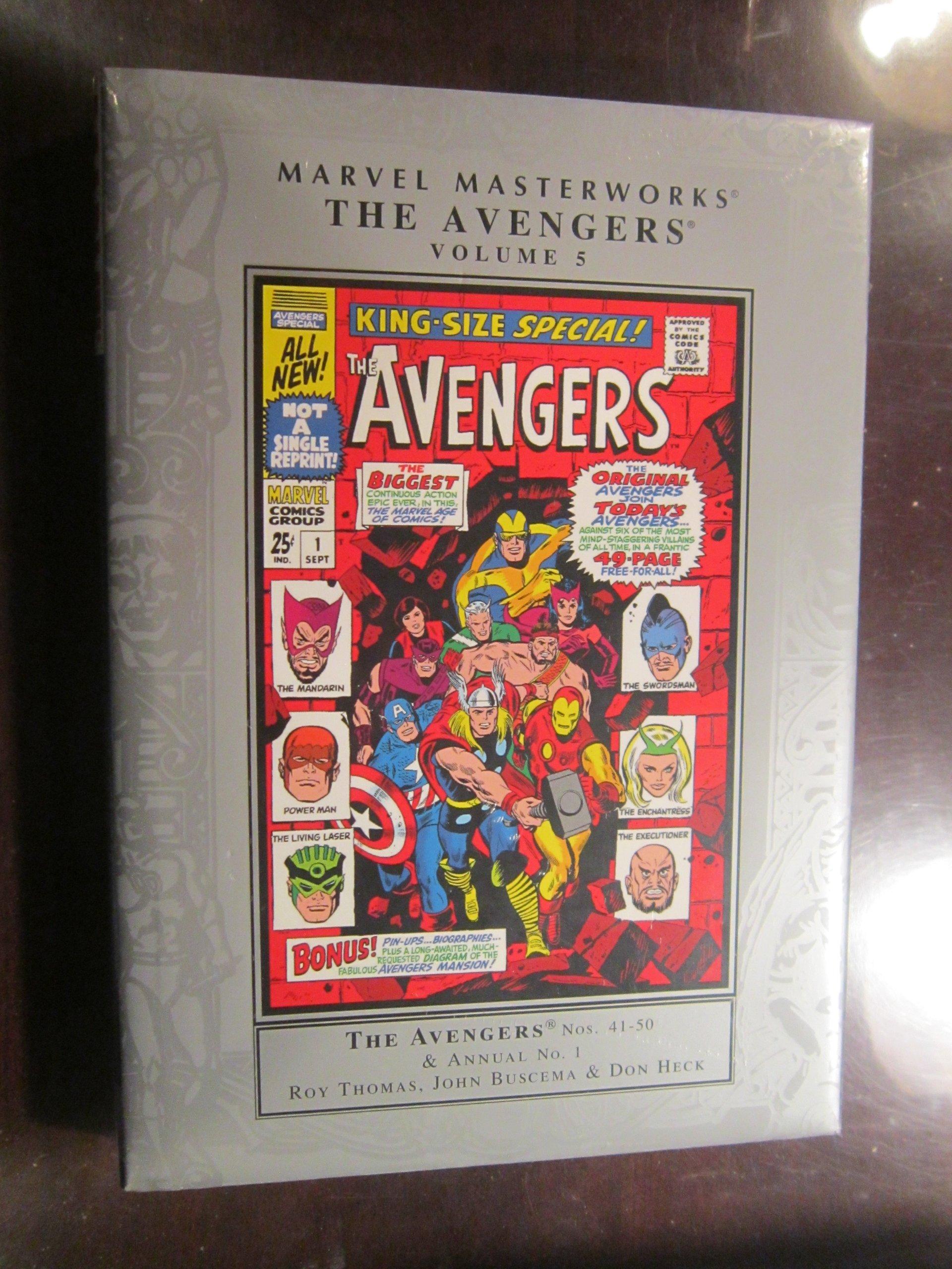 Marvel Masterworks: The Avengers Volume 5 ebook