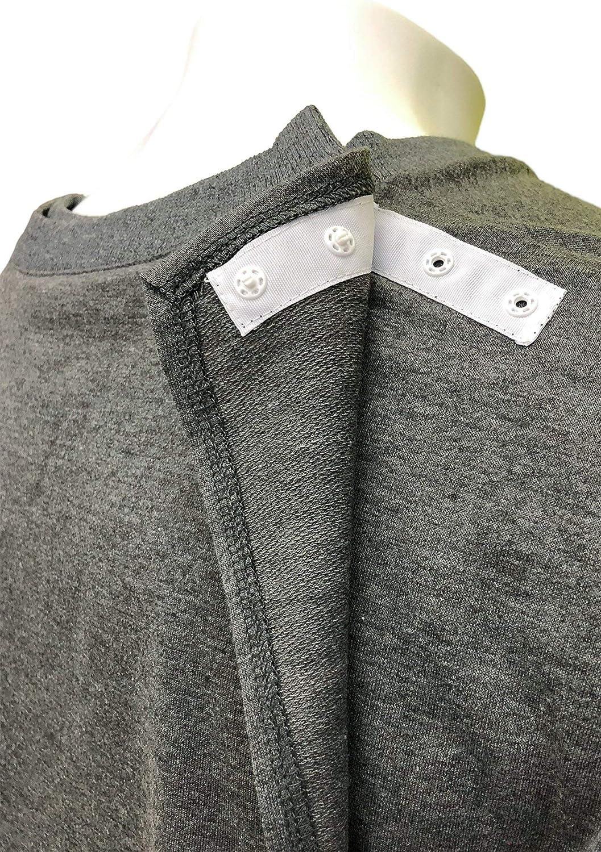 Grey Adaptive Clothing Ovidis Nightshirt for Men Billy