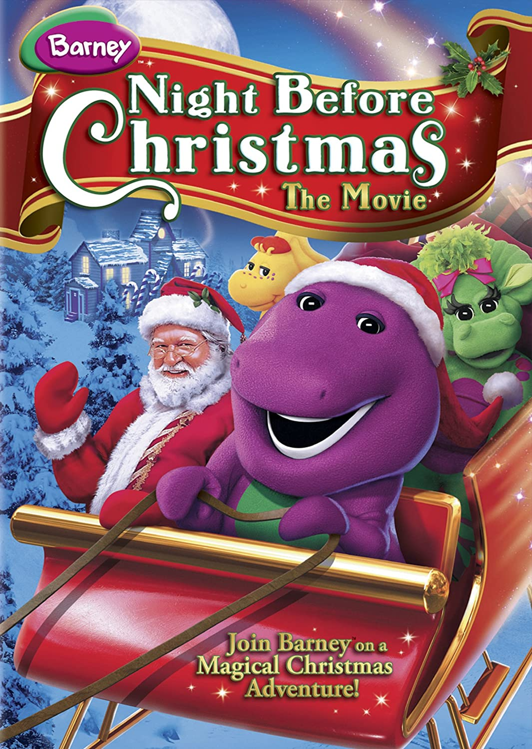 Amazon.com: Barney: Night Before Christmas (The Movie): David Joyner ...