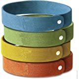 Mosquito Repellent Bracelet 10pcs, 100% All Natural Plant-Based Oil, Non-Toxic Travel Insect Repellent, Safe Deet-Free Band, Soft Fiber Material For Kids & Adults, Keeps Insects & Bugs Away