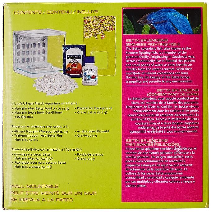 Amazon.com : Marina Betta Pals Kit, Girl Theme : Aquarium Starter Kits : Pet Supplies