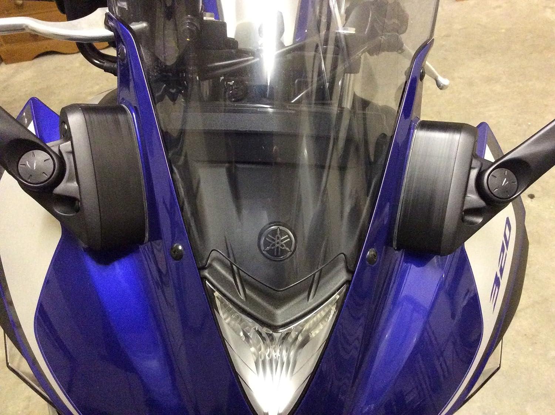 Mirror Extenders SPACERS Yamaha R3 YZF-R3 2015 2018 Railside Performance YZ3M