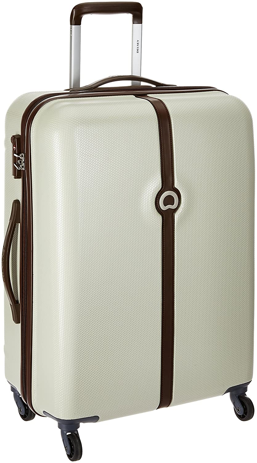 Delsey Clava ABS 55 cms Dark Beige Hardsided Carry On (00344980107)