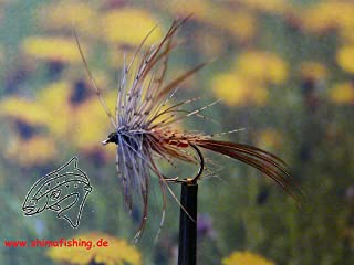 Trockenfliegen ' Mayfly Dun ' 3er Set, Hakengröße 14