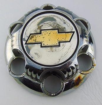 GMC CENTER CAP # 15067578 15067580 SILVER WHEELS CENTER CAP