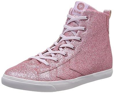 separation shoes 24192 7a908 Hummel Unisex-Kinder Strada Glitter Jr Hohe Sneaker