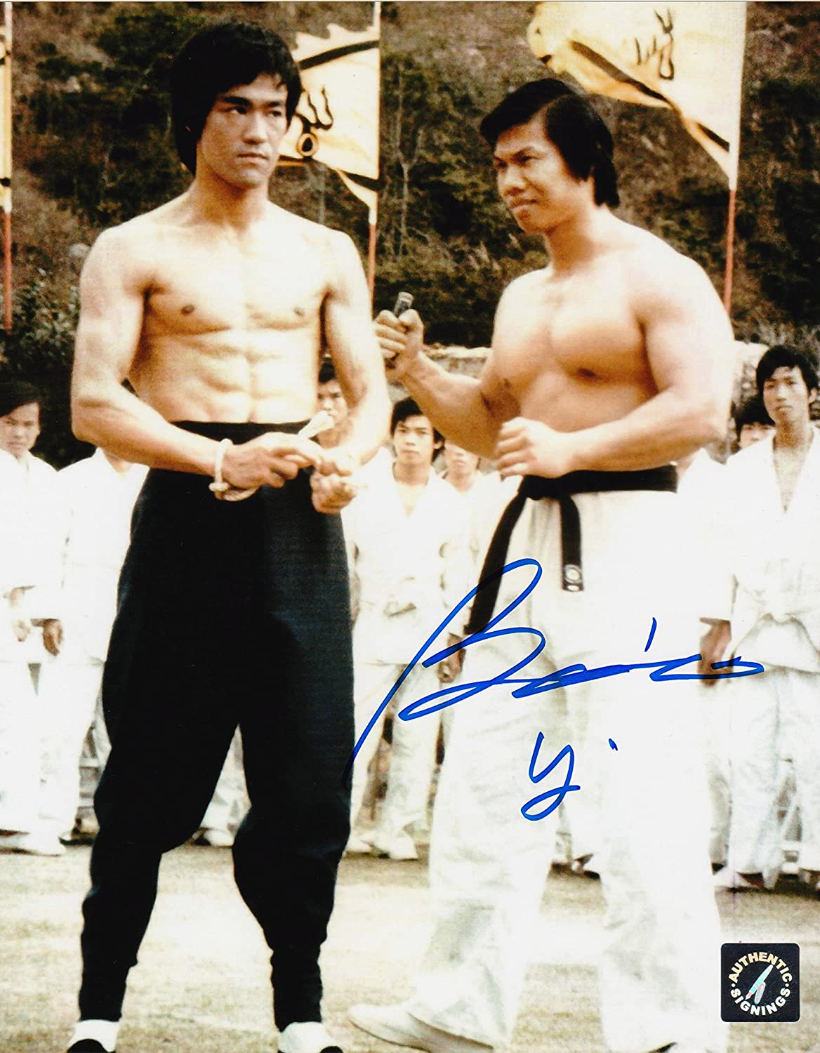 Bolo Yeung Autographed Enter The Dragon W Bruce Lee 8x10 Photo At Amazon S Entertainment Collectibles Store