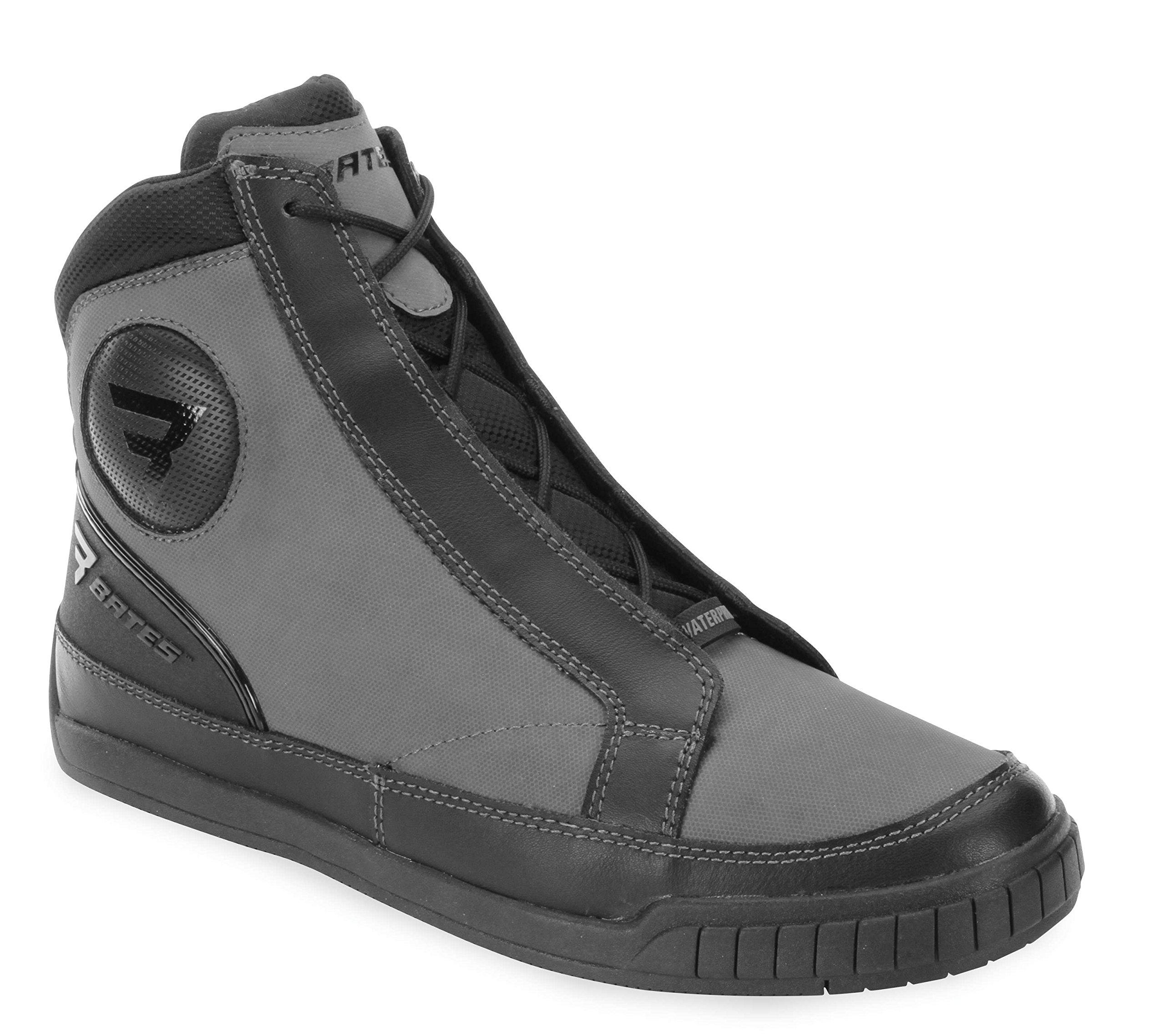 Bates Taser Performance Men's Motorcycle Boots (Grey, Size 11)