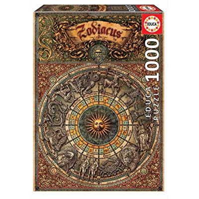 Educa Borrás 17996 Educa Borras Zodiac 1000 Piece Jigsaw Puzzle, Multicoloured, Piezas: Toys & Games
