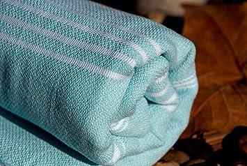 Amazoncom Ice Blue High Quality Cotton Towel As Bath Towel Beach
